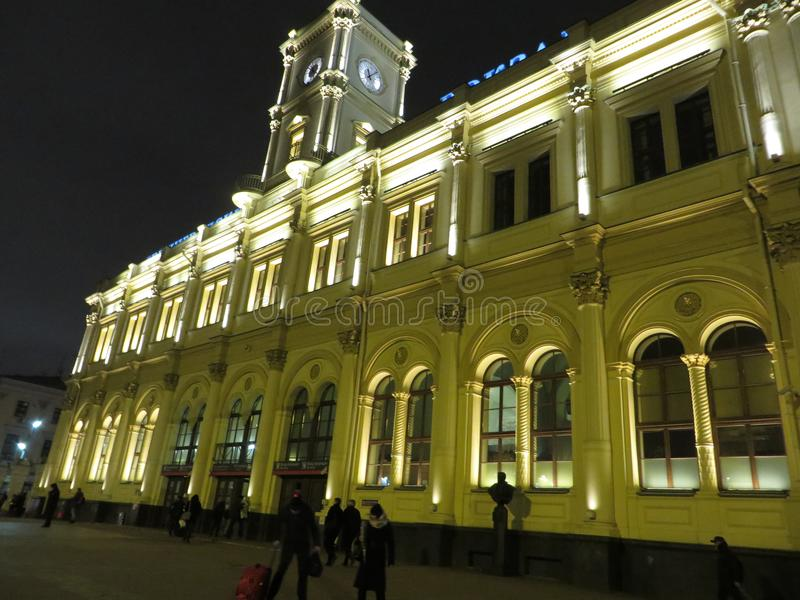 Streets of Petersburg. Russia. Tourist attraction royalty free stock photo