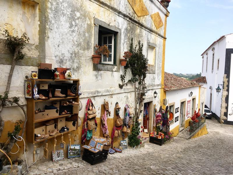 Streets of Portugal royalty free stock images