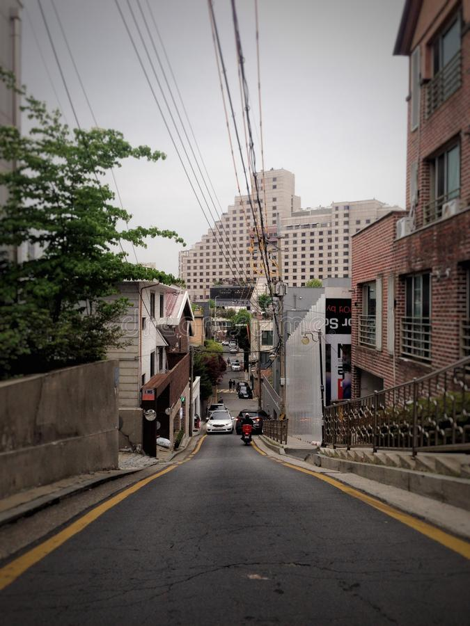 Streets of Seoul stock photography
