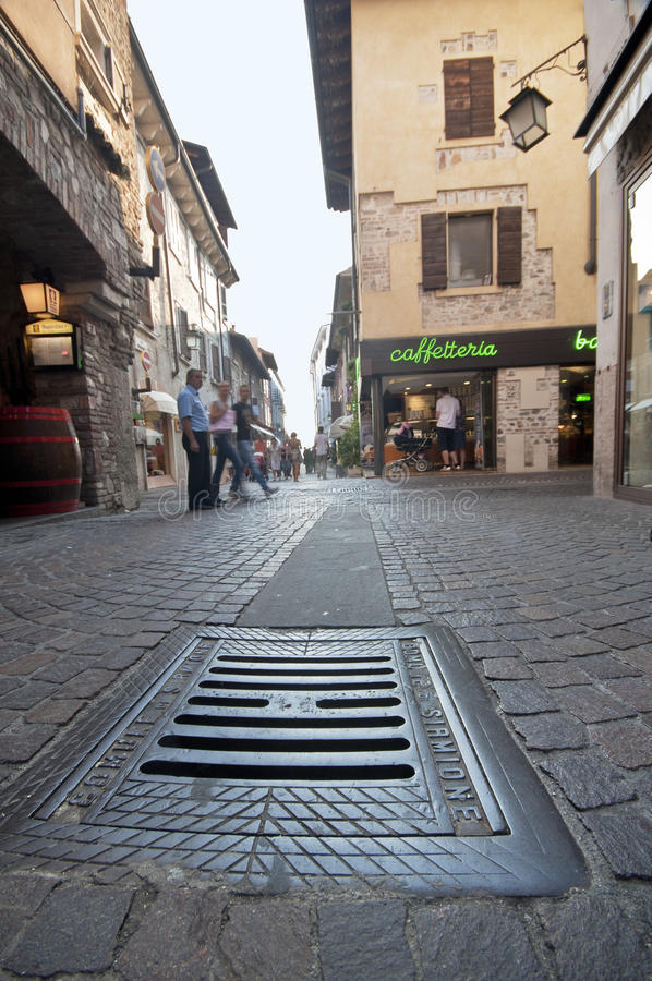 Download At the Streets of Sirmione editorial image. Image of sirmione - 34937390