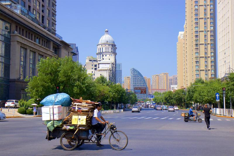 Tianjin city, China royalty free stock photography