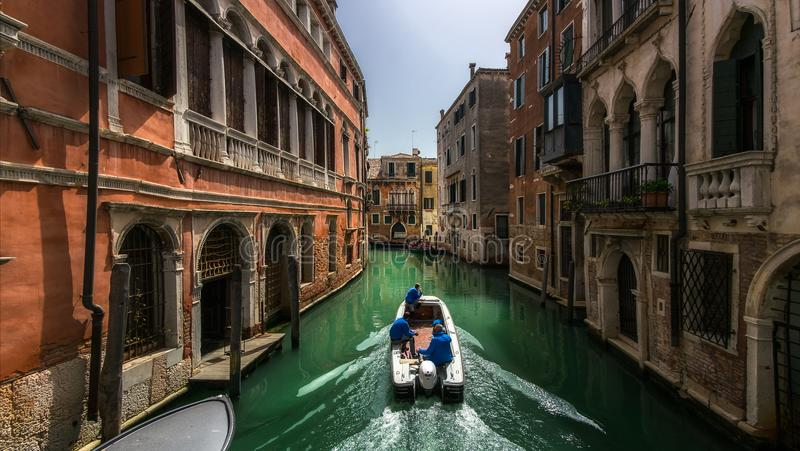 The streets of Venice. Italy. stock image