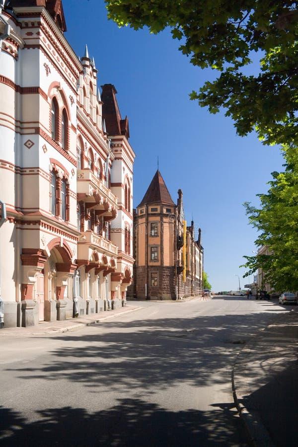 Streets of Vyborg-2 stock photos
