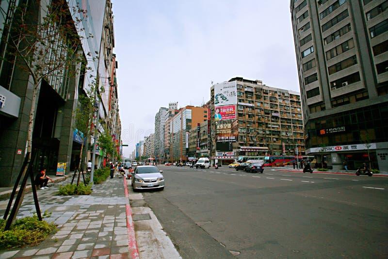 Streetscape в Тайбэе стоковая фотография