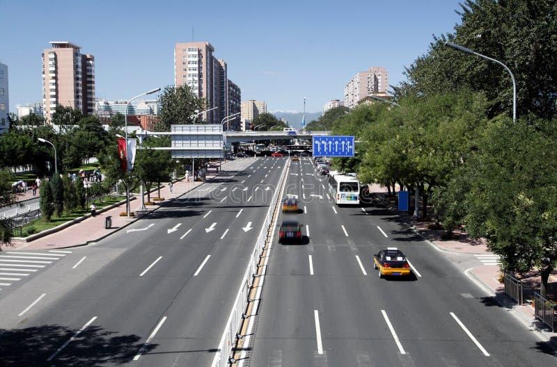 Streetscape de Beijing fotografia de stock royalty free