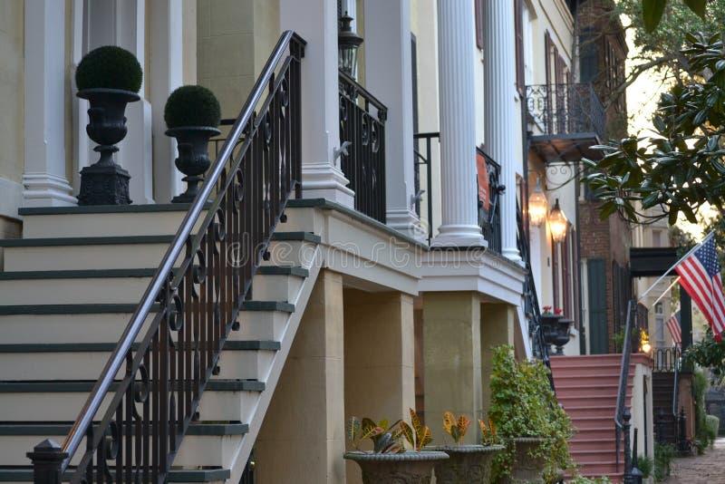 Streetscape de la sabana foto de archivo libre de regalías