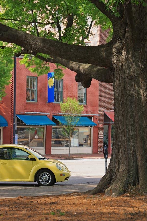 Streetscape Raleigh стоковые фото