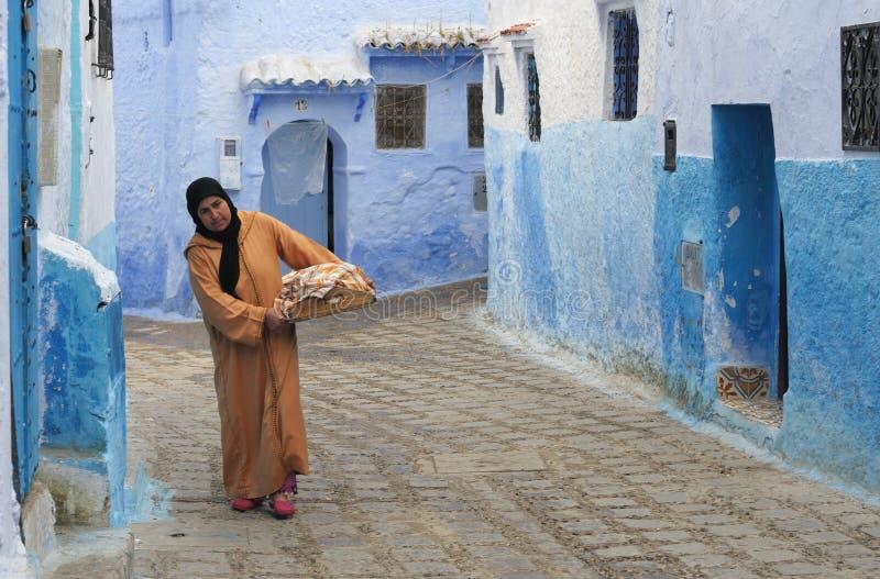 Streetscene in Morocco 3 stock photography