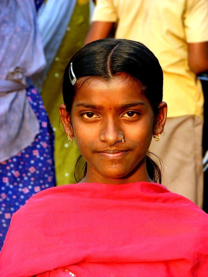 Streetside Girl stock photography
