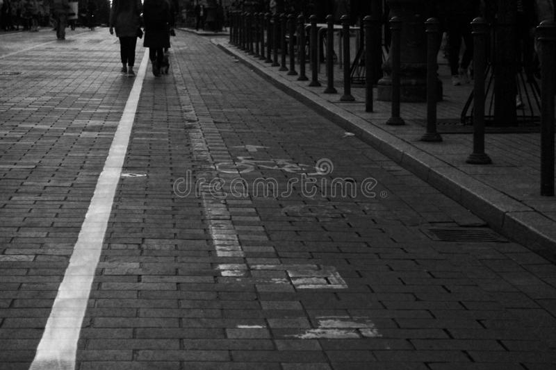Streetview zdjęcie royalty free