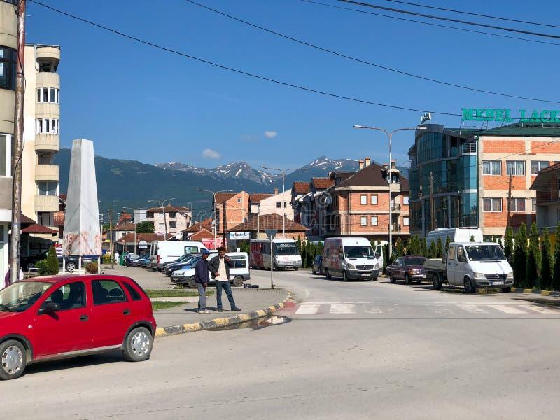Streetview van Stuga stock foto