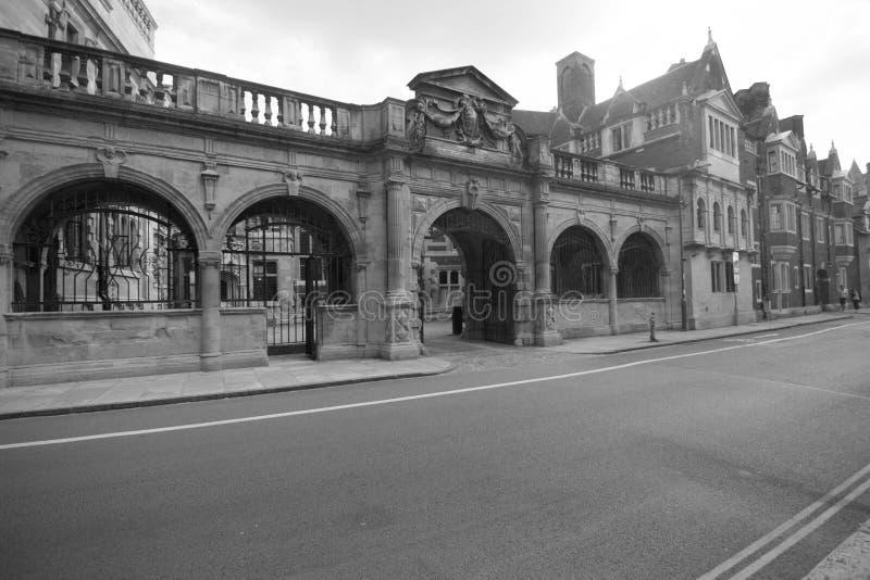 Streetway onderaan geschiedenis stock foto