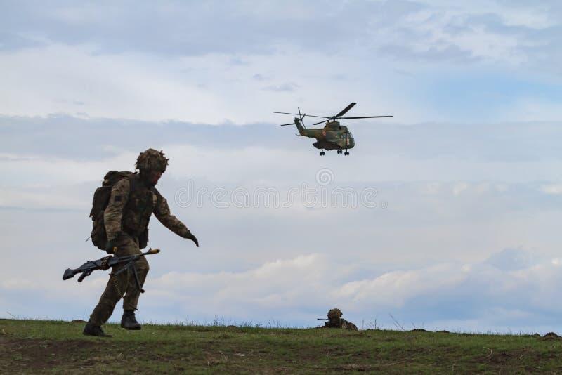 Strefa działań wojennych zdjęcia stock