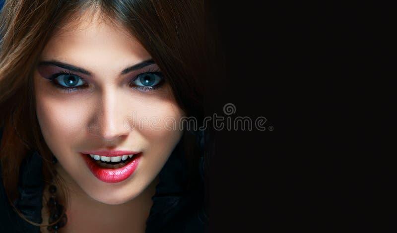 Strega del vampiro fotografie stock