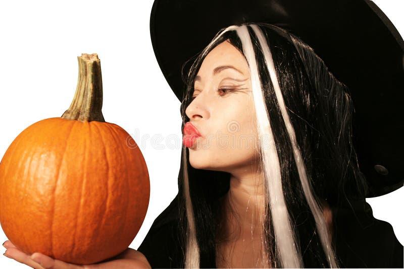 Strega di Halloween immagine stock libera da diritti