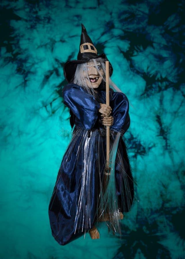 Strega di Halloween immagine stock