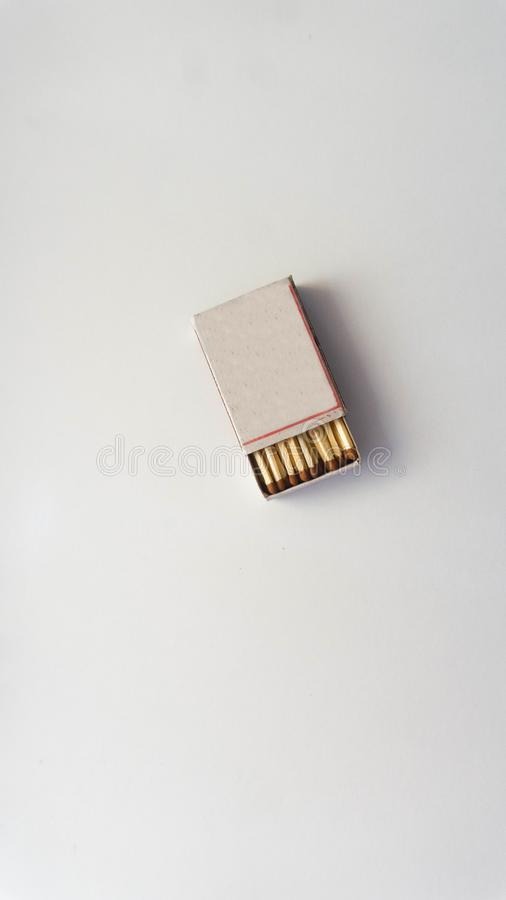 streichholzschachtel lizenzfreies stockbild