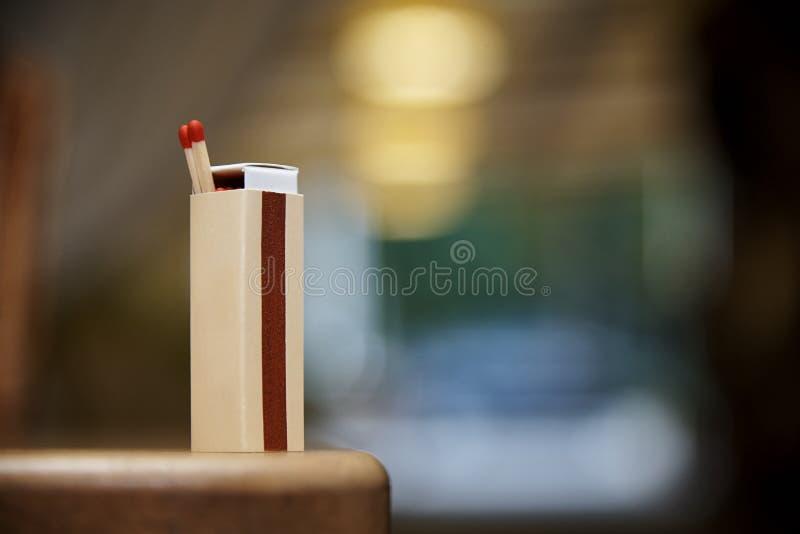 streichholzschachtel stockfotografie
