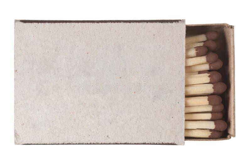 Streichholzschachtel lizenzfreie stockfotografie