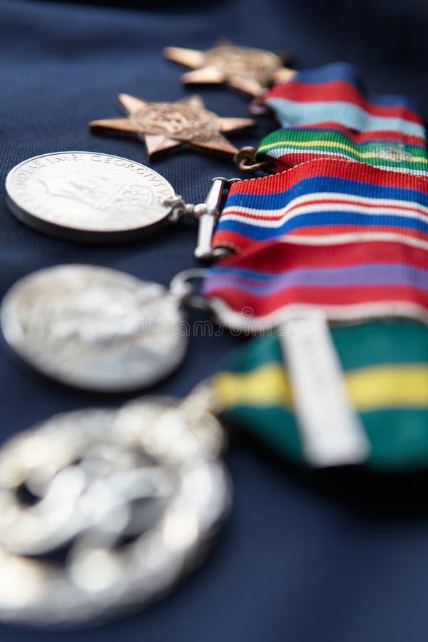 Streifen Der Medaillen Stockfotos