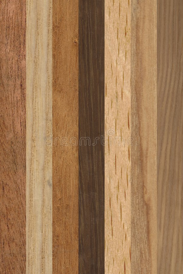 Streifen des Holzes lizenzfreie stockfotos