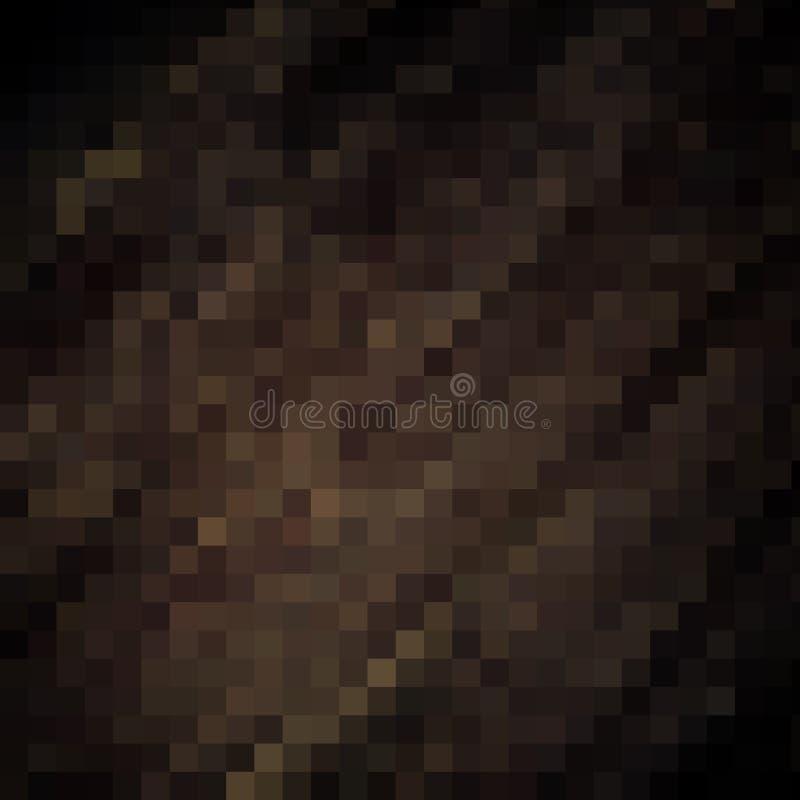 Download Streifen, Dunkles Muster Der Pixel Mit Feingoldstrukturen Stock Abbildung - Illustration von gold, modern: 90233938