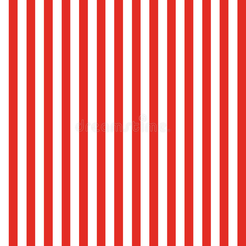 Streifen-nahtloses Muster-Rot vektor abbildung
