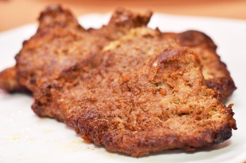 Streifen-Steak stockfoto
