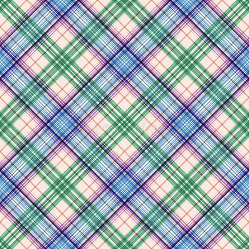 Streift Hintergrund, quadratischen Schottenstoff, das nahtlose Rechteckmuster, keltische Briten vektor abbildung