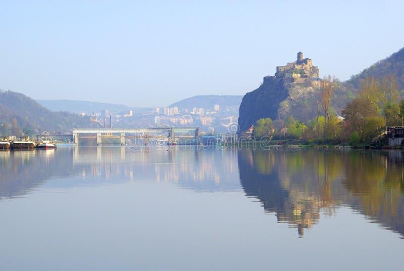 Download Strekov stock photo. Image of mountain, czechia, elbe - 9053630