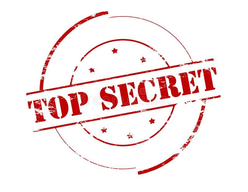 Streng geheim stock abbildung