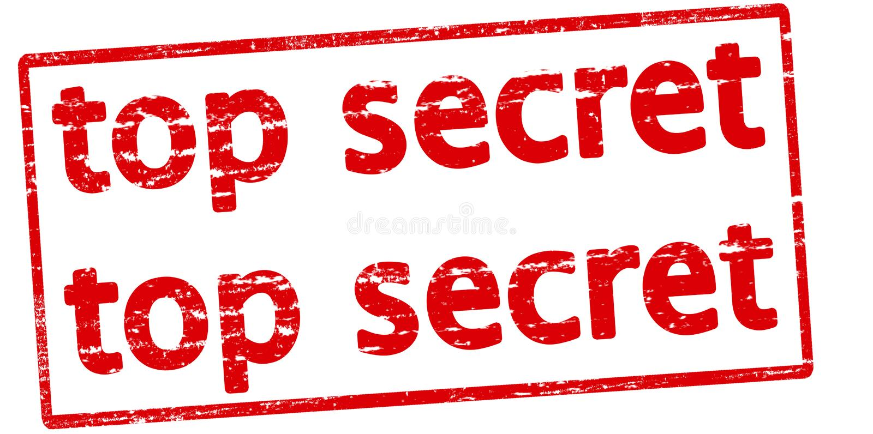 Streng geheim vektor abbildung