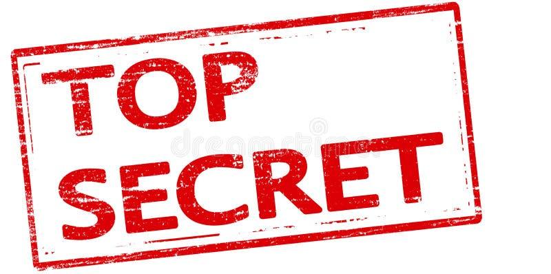 Streng geheim lizenzfreie abbildung