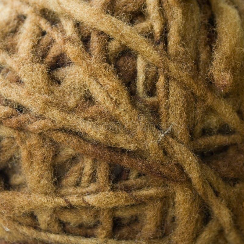 Streng van wol van schapen royalty-vrije stock foto's