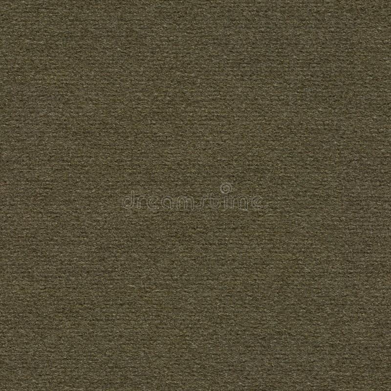 Strenger dunkelgrüner texile Hintergrund Nahtlose quadratische Beschaffenheit des Gewebes stockfotografie