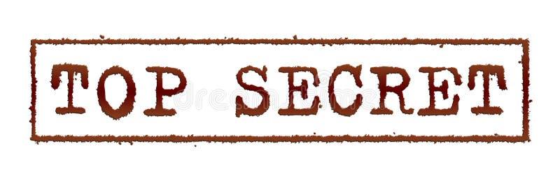 Strenges Geheimnis lizenzfreie abbildung
