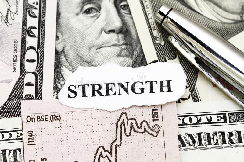 Download Strength Of Business Profit Stock Illustration - Image: 12240221