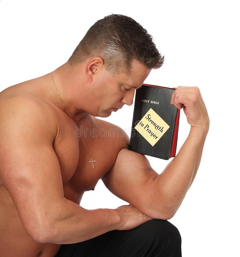 Strength In Prayer Royalty Free Stock Photos