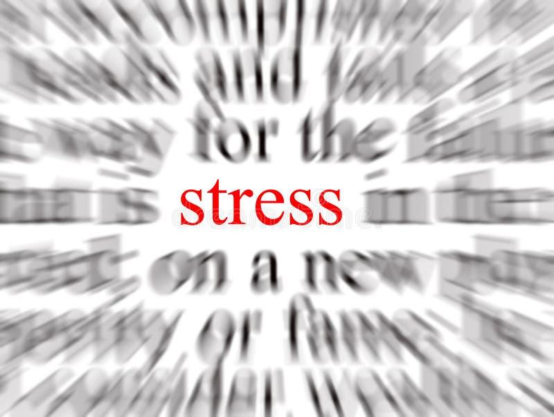stres royalty ilustracja