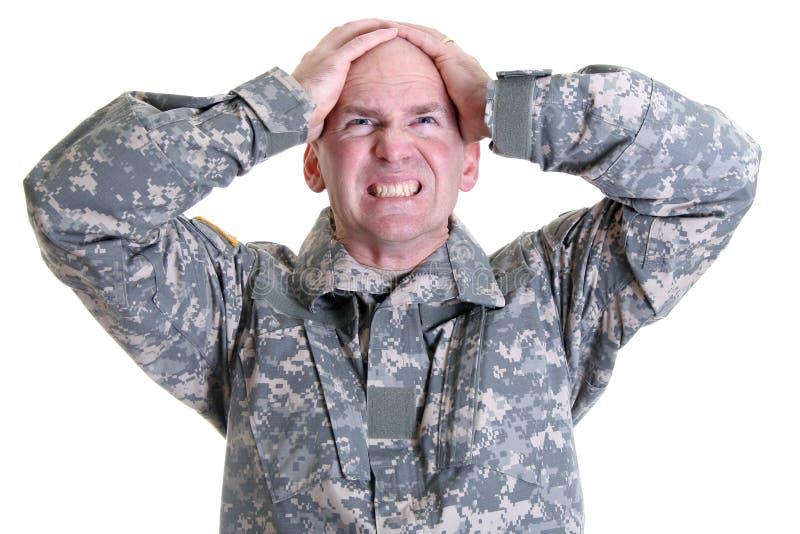 stres combat zdjęcia stock