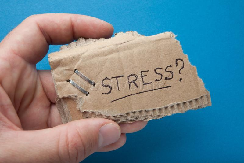 Stres od bezrobocia i ubóstwa, pojęcie zdjęcie royalty free