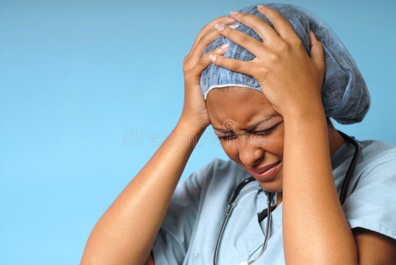 stres szpitala zdjęcia stock
