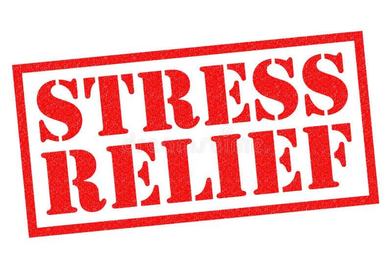 Stres ulga ilustracji