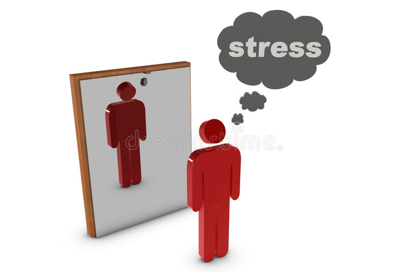 Download Stress stock illustration. Image of misgiving, message - 12039683