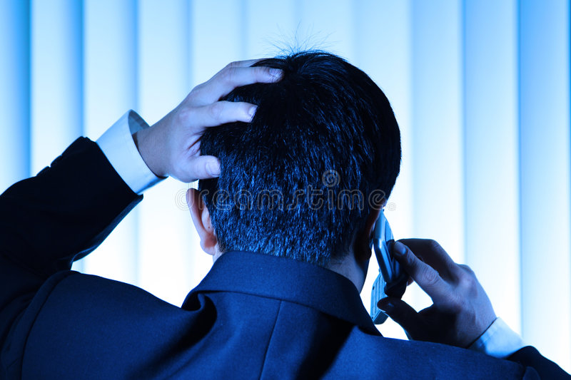 Download Stress stock photo. Image of meeting, converse, mobile - 2497850