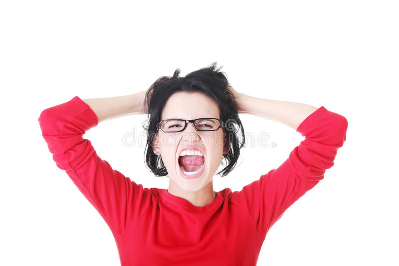 Download Stress. stock photo. Image of adult, crisis, up, caucasian - 27480756