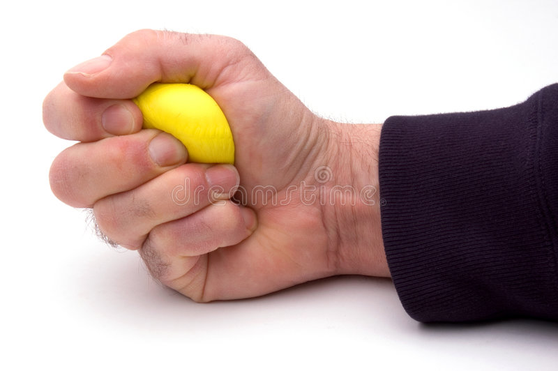 Stress Ball royalty free stock images