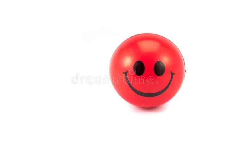 Stress ball on white background royalty free stock photo