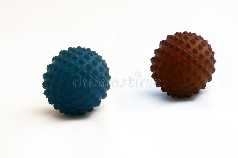 Relax balls royalty free stock photo
