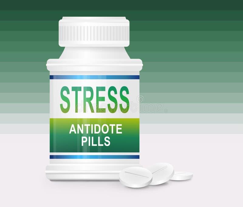 Download Stress concept. stock illustration. Image of drug, healthcare - 23336501